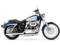 Harley Davidson XL883C Sportster Custom