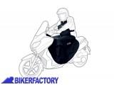 BikerFactory Coprigambe impermeabile antipioggia universale OXFORD per scooter con pettorina e coprisella OXF.00.OX399 1029377