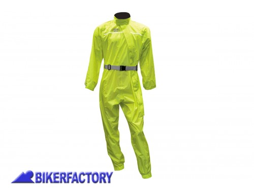BikerFactory Tuta intera impermeabile OXFORD colore giallo 1025115