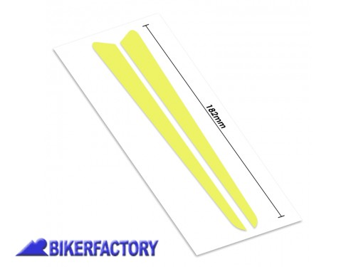 BikerFactory Adesivi Decalcomanie x unghia coprisella PYRAMID colore Night Fluo Yellow x YAMAHA MT 10 con sella confort PY06.CBRA0020B 1039680