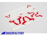 BikerFactory Kit Adesivi SW Motech in varie dimensioni colore bianco rosso WER.GIV.017.10000 1033986
