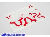 BikerFactory Kit Adesivi SW Motech in varie dimensioni colore bianco rosso WER.GIV.017.10001 1044649