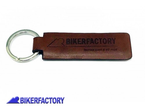 BikerFactory Portachiavi Bikerfactory Legend Gear in vera pelle Made in Italy BKF.00.10000 1038215