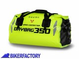 BikerFactory Borsa Posteriore impermeabile %28 rotolo %29 BAGS CONNECTION DRYBAG 35 lt. colore giallo neon BC.WPB.00.001.10001 Y 1028937