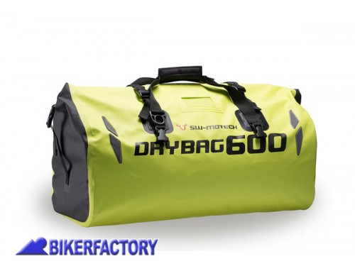 BikerFactory Borsa Posteriore impermeabile SW Motech DRYBAG 600 60 lt. colore giallo neon %2ASecurity Line%2A BC.WPB.00.002.10001 Y 1029776