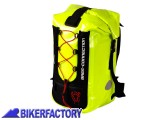 BikerFactory Zaino antipioggia impermeabile BAGS CONNECTION %22BARACUDA%22 %2ASecurity Line%2A Giallo Neon BCK.WPB.00.056.100 Y 1020800