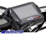 BikerFactory Borsetta porta GPS SW Motech mod. NAVi Bag Impermeabile %28INT%3A 120 mm x 90 mm x 25 mm%29. BC.GPS.00.005.10000 1012699
