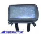 BikerFactory Borsetta porta GPS con staffe per aggancio a borse serbatoio Quick Lock SW Motech. BCK.GPS5121 1018468