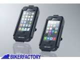 BikerFactory Custodia rigida impermeabile SW Motech per IPhone 5 5S GPS.00.646.20200 B 1024647