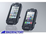 BikerFactory Custodia rigida impermeabile SW Motech per IPhone 5c GPS.00.646.20300 B 1028312