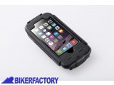 BikerFactory Custodia rigida impermeabile SW Motech per IPhone 6 GPS.00.646.20500 B 1030788