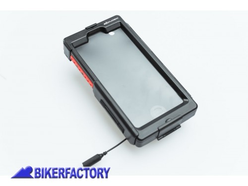 BikerFactory Custodia rigida impermeabile SW Motech per Iphone 6 plus 6S Plus GPS.00.646.20600 B 1033169