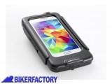 BikerFactory Custodia rigida impermeabile SW Motech per Samsun Galaxy S5 GPS.00.646.20400 B 1030779