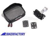 BikerFactory Kit completo SW Motech per aggancio navigatori GPS o componenti elettronici a manubri %C3%98 25 26 mm GPS.00.308.20100 S 1020734