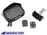 BikerFactory Kit completo SW Motech per aggancio navigatori GPS o componenti elettronici a manubri %C3%98 28 mm GPS.00.308.20200 S 1020735