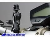 BikerFactory Kit universale SW Motech per GoPRo Hero aggancio a manubrio e specchietto moto CPA.00.424.12500 B 1033077