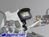 BikerFactory Kit universale SW Motech supporto porta GPS Smartphone fotocamera per manubri e specchietto moto completo di borsina %28EXT%3A 135 mm x 100 mm x 42 mm INT%3A 131 mm x 96 mm x 38 mm%29 GPS.00.308.30001 B 1024178