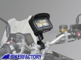 BikerFactory Kit universale SW Motech supporto porta GPS Smartphone fotocamera per manubri e specchietto moto completo di borsina %28EXT%3A 135 mm x 100 mm x 42 mm INT%3A 131 mm x 96 mm x 38 mm%29. GPS.00.308.30001 B 1024178