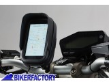 BikerFactory Kit universale SW Motech supporto porta GPS Smartphone fotocamera per manubri e specchietto moto completo di borsina Navi Case Pro S %5BDim. interna%3A 146 x 83 x 38 mm%5D GPS.00.308.30400 B 1034103