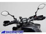 BikerFactory Kit universale SW Motech supporto porta GPS Smartphone fotocamera per manubri moto con braccetto RAM ARM regolabile GPS.00.308.30300 B 1026779