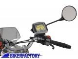 BikerFactory Staffa per aggancio GPS Fotocamera a specchietto GPS.00.308.10400 B 1003123