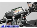 BikerFactory Supporto SW Motech base manubrio per GPS con QUICK LOCK GPS.07.646.10600 B 1012426