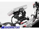 BikerFactory Supporto SW Motech base manubrio per GPS con QUICK LOCK specifico per APRILIA DORSODURO cod. GPS.13.646.10000 B GPS.13.646.10000 B 1019031