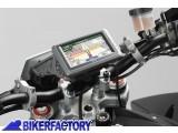 BikerFactory Supporto SW Motech base manubrio per GPS con QUICK LOCK specifico per i modelli BMW R850 1100 1150RT GPS.07.XX.646.10600 B 1018664