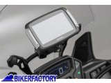 BikerFactory Supporto SW Motech porta GPS per traversino manubrio moto con sgancio aggancio rapido QUICK LOCK cod. GPS.00.646.10500 B   %23GPS1%23 GPS.00.646.10500 B 1013577
