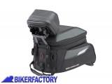 BikerFactory Supporto aggancio GPS per borse serbatoio SW Motech Quick Lock EVO BCK.GPS.00.010.100 1033754