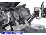 BikerFactory Supporto metallico SW Motech da manubrio per navigatori GPS e componenti elettronici %C3%98 26mm GPS.00.308.10100 S 1000076