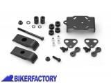 BikerFactory Supporto metallico da manubrio per navigatori GPS e componenti elettronici %28%C3%98 22mm%29 1002856