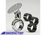 BikerFactory Supporto navigatore ZTechniK per manubri %C3%9822mm%2C %C3%9826mm%2C %C3%9828mm%2C %C3%9832mm con braccetto snodato. Z6016 1001263