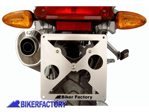 BikerFactory Portatarga in acciaio inox per BMW R 1200 GS e Adventure 2850 1001584
