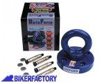 BikerFactory Ancoraggio a terra con testa rotante per catena OXFORD mod. Rota Force OXF.00.OF438 1025080