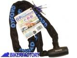 BikerFactory Antifurto meccanico MOTO e SCOOTER Catena e lucchetto OXFORD mod. GP 1%2C5 mt OXF.00.OF178 1027994