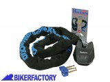 BikerFactory Antifurto meccanico MOTO e SCOOTER Catena e lucchetto OXFORD mod. HARDCORE XL 1%2C2 mt OXF.00.OF13 1025091
