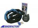 BikerFactory Antifurto meccanico MOTO e SCOOTER Catena e lucchetto OXFORD mod. HARDCORE XL 1%2C5 mt OXF.00.OF14 1025095