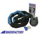 BikerFactory Antifurto meccanico MOTO e SCOOTER Catena e lucchetto OXFORD mod. HARDCORE XL 2%2C0 mt OXF.00.OF15 1025096