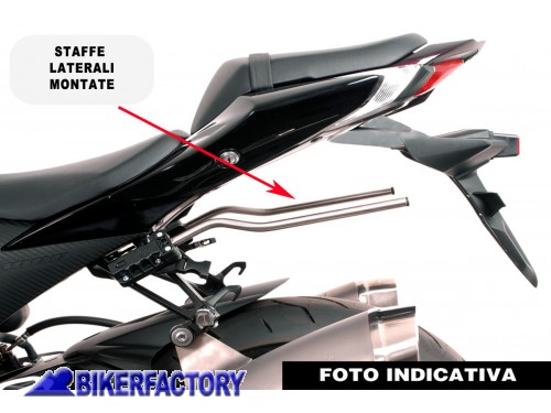 Kit completo borse laterali SW Motech Blaze H con telaietto a sgancio  rapido x BMW R1200R art. BC.HTA.07.740.10601 B f95fcf75589