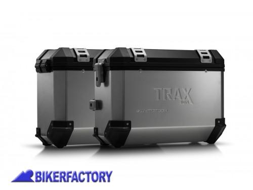 212a726aaa Kit borse laterali in alluminio SW-Motech TRAX ION completo per KTM 1290  Super Duke