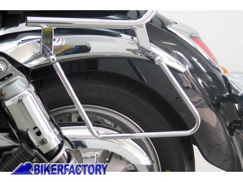 Kit telai x borse laterali a bisaccia in pelle o morbide x KAWASAKI VN 1700 Classic per Kawasaki VN Vulcan 1700 Classic