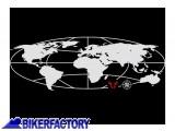 BikerFactory Adesivo Trax %C2%AE Globe SW Motech argento LOG.00.001.10000 S 1024118