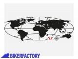 BikerFactory Adesivo Trax %C2%AE Globe SW Motech nero LOG.00.001.10000 B 1024117