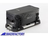 BikerFactory Borsa espansione impermeabile in tela cerata TRAX GEAR%2B SW Motech per borse laterali in alluminio BC.ALK.00.732.10200 B 1030755
