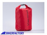 BikerFactory Borsa impermeabile SW Motech Drypack in Tela cerata 210D 250D colore Rosso 8 lt. BC.WPB.00.014.10000 1030818