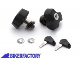 BikerFactory Chiusure di sicurezza per telaietti laterali portaborse Quick Lock SW Motech QLS.00.046.10100 B 1000350