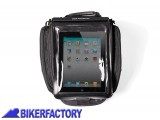 BikerFactory Custodia impermeabile porta tablet per borse da serbatoio Quick Lock BC.TRS.00.151.10000 1019775