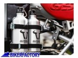 BikerFactory Kit 2 borracce in alluminio %280%2C6 Lt.%29 per borse TRAX. ALK.00.165.30800 S 1018662