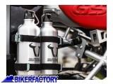 BikerFactory Kit 2 borracce in alluminio %280%2C6 Lt.%29 per moto per borse SW Motech TRAX ALK.00.165.30800 S 1018662